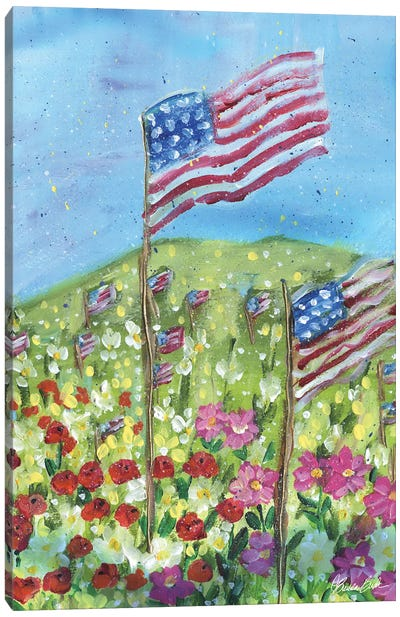 Thankful In America Canvas Art Print