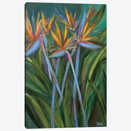 Paradise In The Garden Canvas Print #BBN25} by Brenda Bush Canvas Art Print