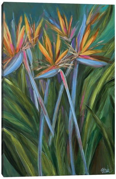 Paradise In The Garden Canvas Art Print