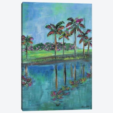 Tropical Reflections Canvas Print #BBN262} by Brenda Bush Canvas Print