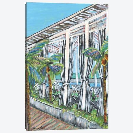 Rooftop View At Quinto Canvas Print #BBN263} by Brenda Bush Canvas Art Print