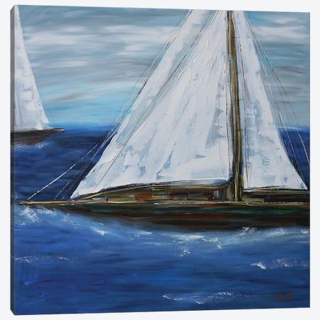 Leaving The World Behind Canvas Print #BBN27} by Brenda Bush Art Print