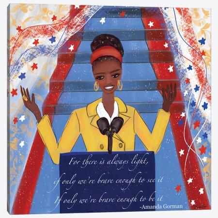 Amanda's Debut Canvas Print #BBN2} by Brenda Bush Canvas Artwork