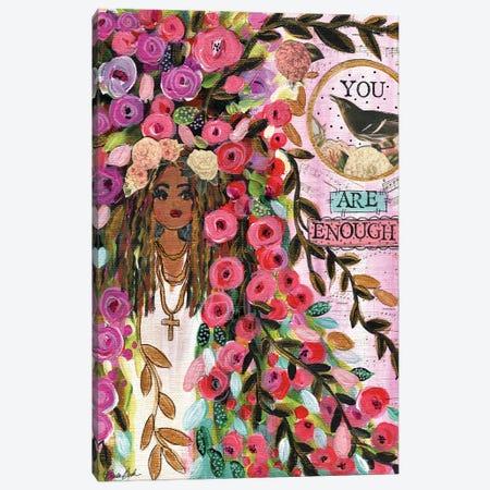 You Are Enough Canvas Print #BBN33} by Brenda Bush Canvas Print