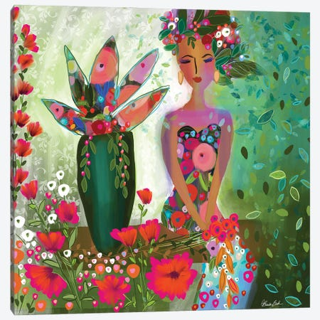 All The Feelings Canvas Print #BBN3} by Brenda Bush Canvas Art
