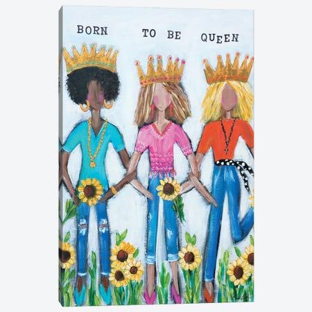Born To Be Queen Canvas Print #BBN42} by Brenda Bush Canvas Art