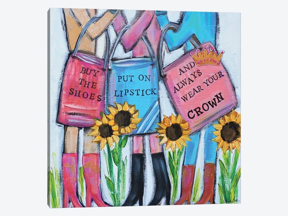Girls Day Out by Brenda Bush 1-piece Canvas Art Print