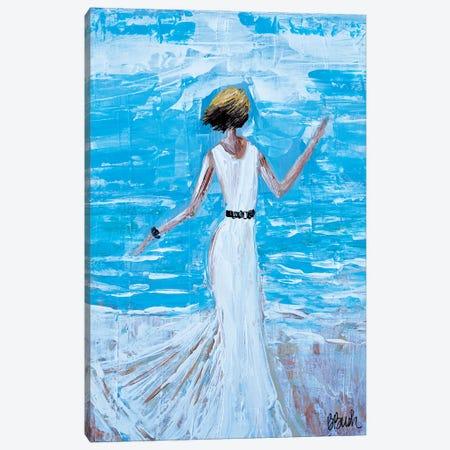 Dancing On The Beach Canvas Print #BBN45} by Brenda Bush Canvas Print