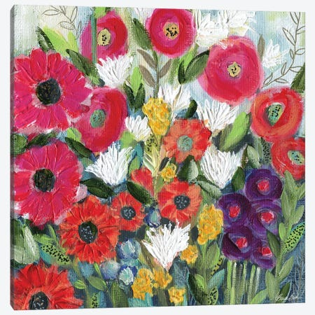 Feeling Renewed Canvas Print #BBN67} by Brenda Bush Art Print