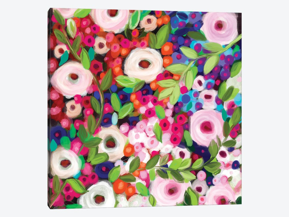 Garden Delight by Brenda Bush 1-piece Canvas Artwork