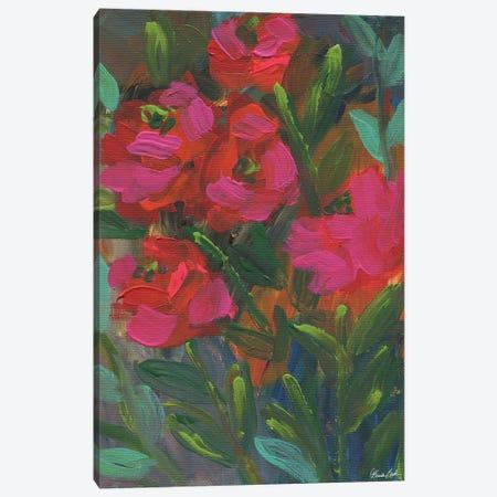 Garden Tango Canvas Print #BBN75} by Brenda Bush Canvas Artwork