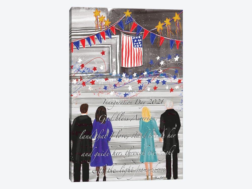Inauguration Day by Brenda Bush 1-piece Art Print