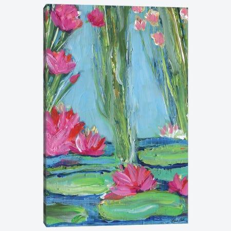 Lily Pad Heaven Canvas Print #BBN81} by Brenda Bush Canvas Wall Art