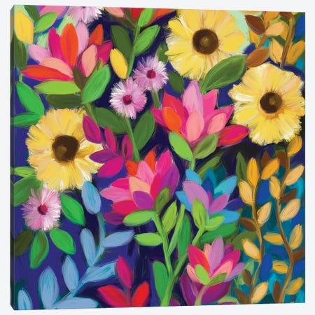 Lotus Love Canvas Print #BBN82} by Brenda Bush Canvas Art