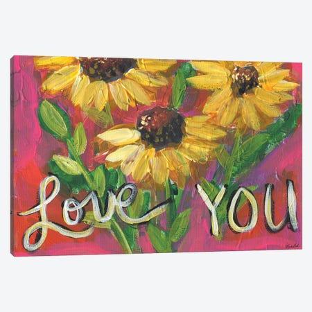 Love You Canvas Print #BBN84} by Brenda Bush Canvas Art Print