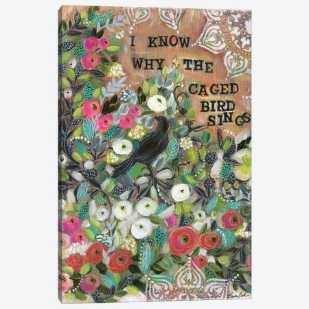 Ode To Maya Angelou Canvas Print #BBN88} by Brenda Bush Canvas Artwork