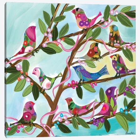The Gathering Canvas Print #BBN90} by Brenda Bush Art Print