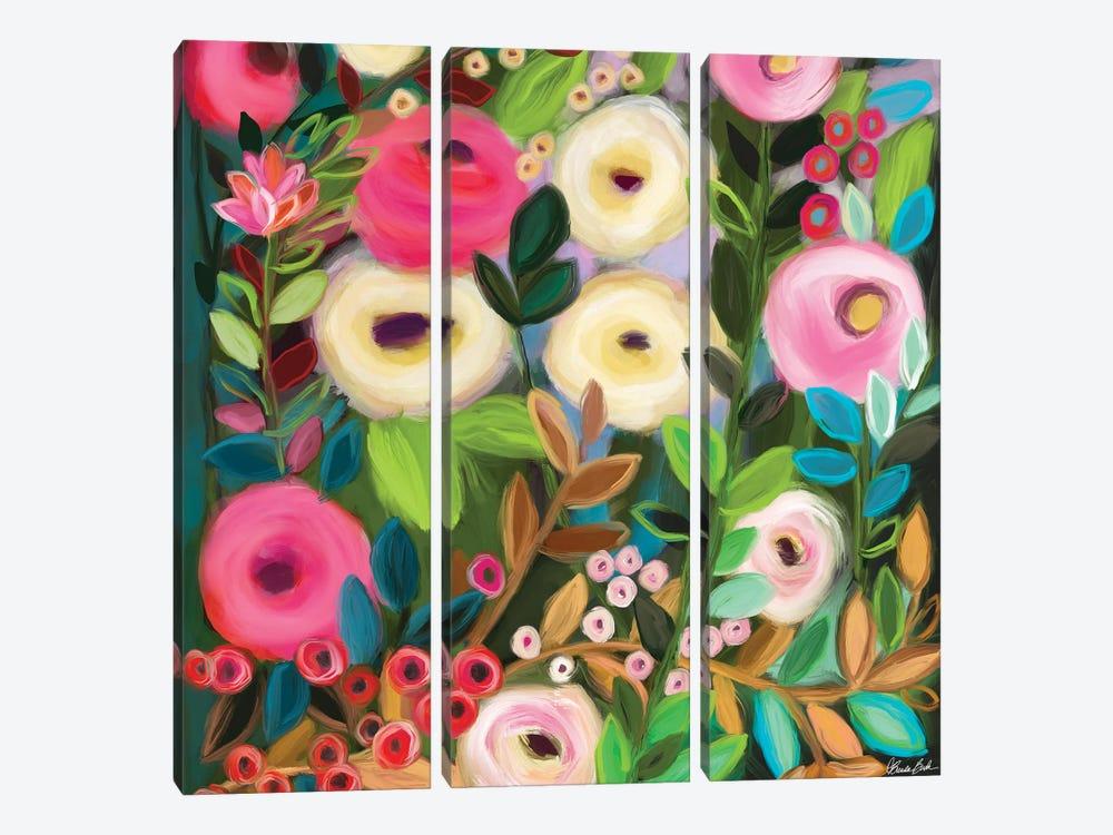 Sweet Nothings by Brenda Bush 3-piece Canvas Artwork