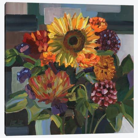 Birthday Bouquet Canvas Print #BBO12} by Brooke Borcherding Canvas Artwork
