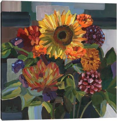 Birthday Bouquet Canvas Art Print