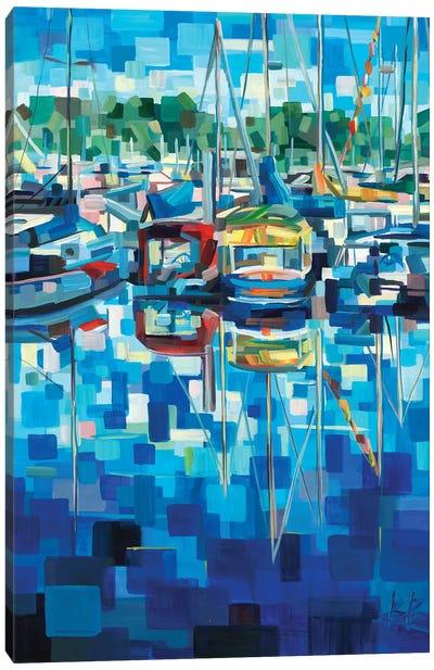 Untitled (Boats) Canvas Art Print