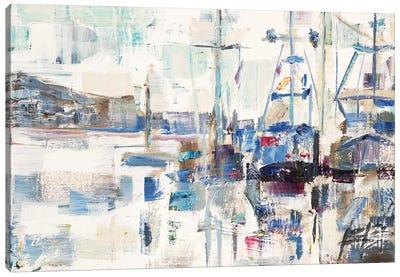 Across A Line Canvas Art Print