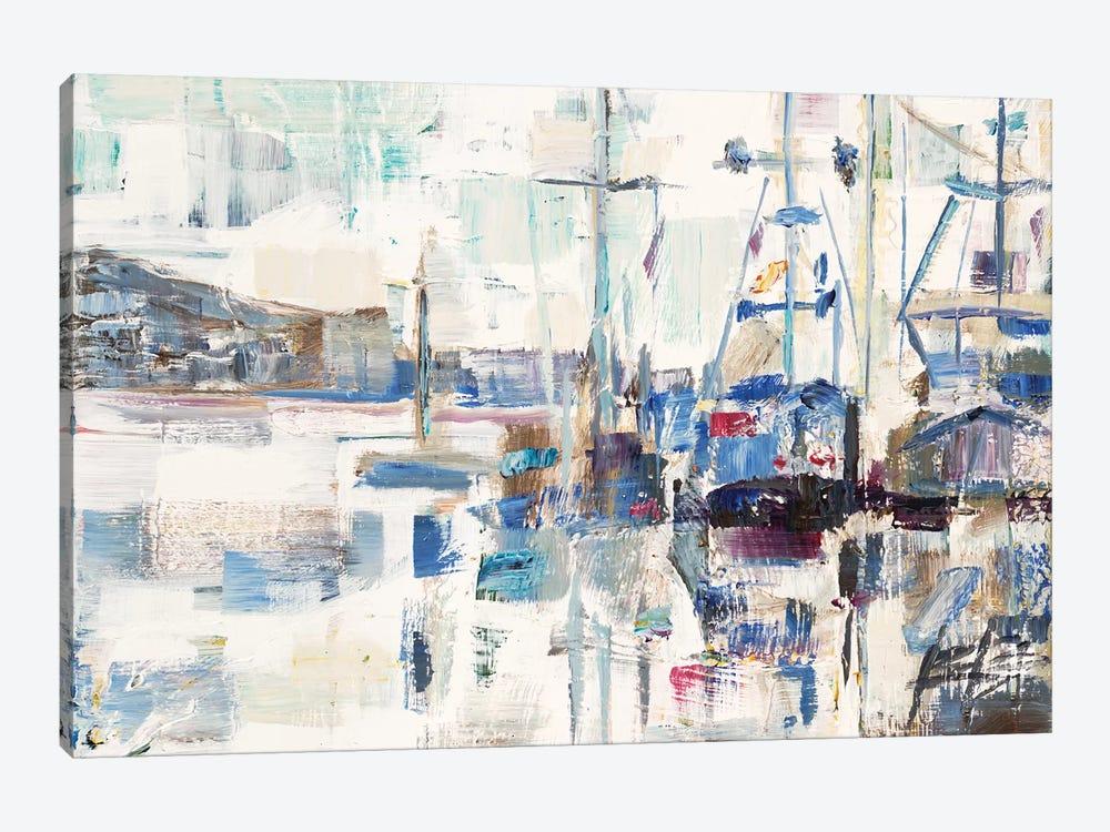 Across A Line by Brooke Borcherding 1-piece Canvas Print
