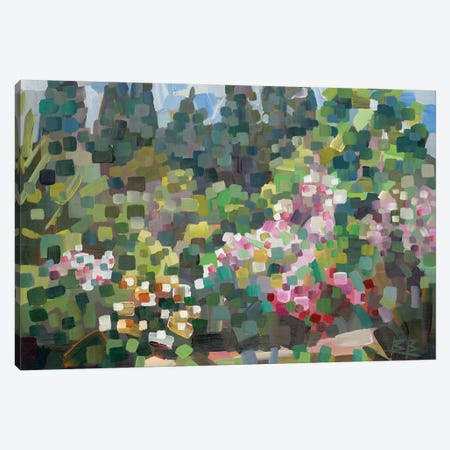 Arboretum In Spring 3-Piece Canvas #BBO2} by Brooke Borcherding Canvas Art Print