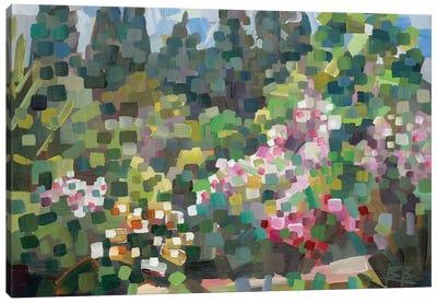 Arboretum In Spring Canvas Art Print