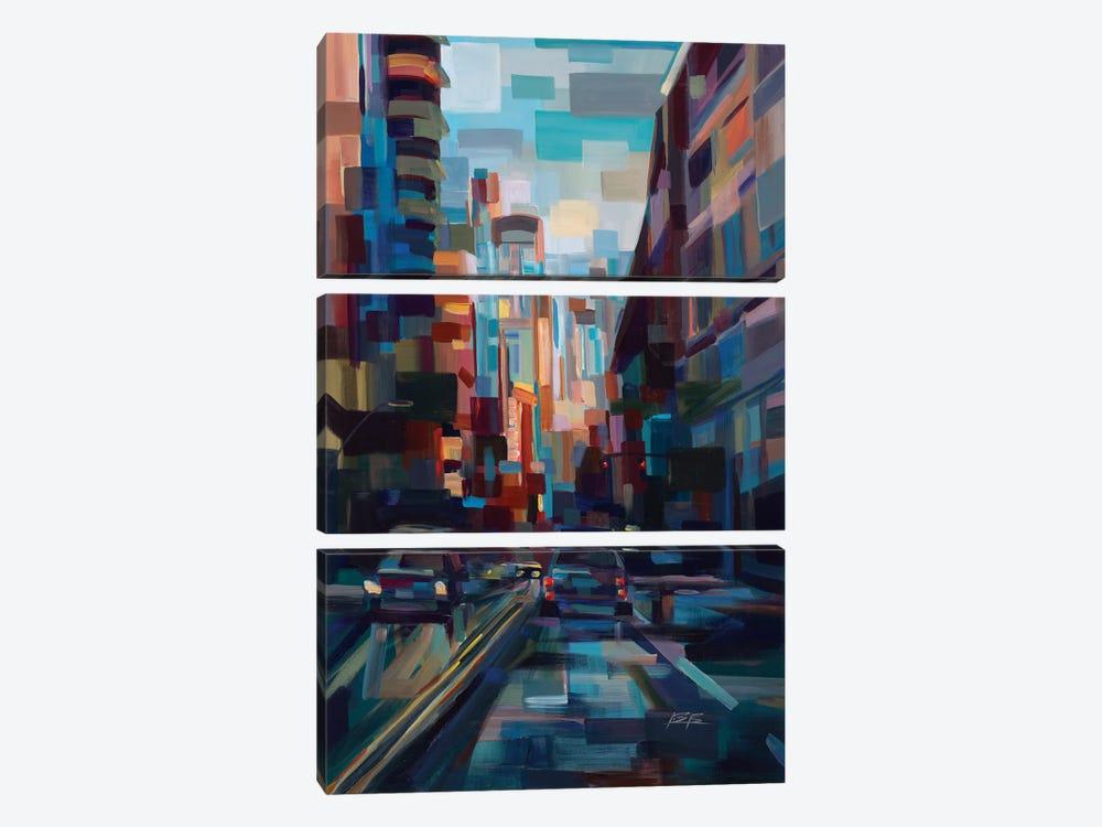 Evening In The City by Brooke Borcherding 3-piece Canvas Art