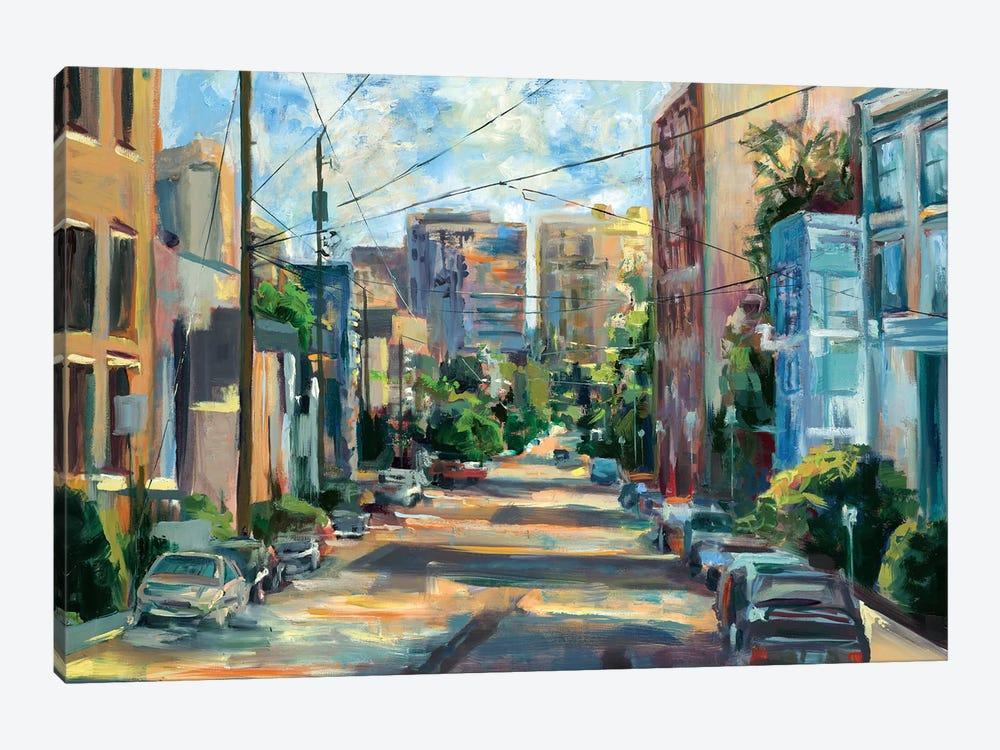 Belmont Street, Capital Hill  by Brooke Borcherding 1-piece Canvas Print