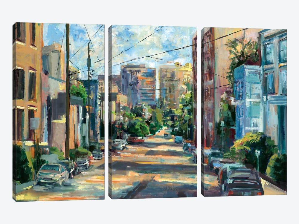 Belmont Street, Capital Hill  by Brooke Borcherding 3-piece Art Print