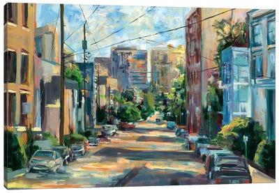 Belmont Street, Capital Hill  Canvas Art Print