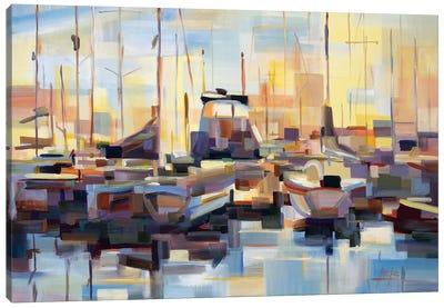 Boats Canvas Art Print