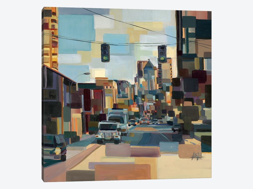 Cutting Through  by Brooke Borcherding 1-piece Canvas Artwork
