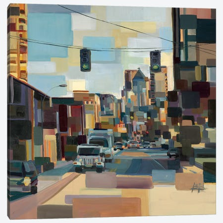 Cutting Through  Canvas Print #BBO46} by Brooke Borcherding Canvas Artwork