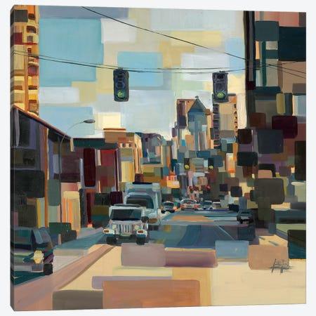 Cutting Through  3-Piece Canvas #BBO46} by Brooke Borcherding Canvas Artwork