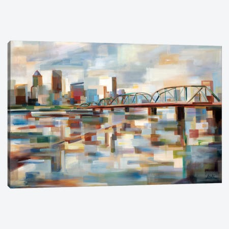 Hawthorne Bridge Canvas Print #BBO48} by Brooke Borcherding Canvas Print