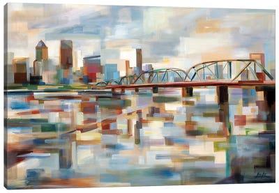 Hawthorne Bridge Canvas Art Print