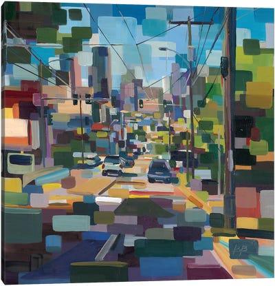 Madison to Pike  Canvas Art Print