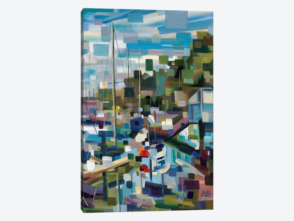 Marina Memories  by Brooke Borcherding 1-piece Canvas Art