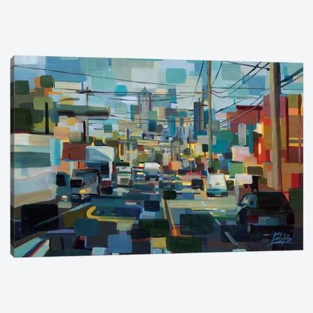 North on 1st Canvas Print #BBO57} by Brooke Borcherding Canvas Art Print