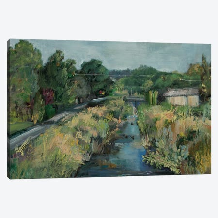 Polk Street Creek  Canvas Print #BBO58} by Brooke Borcherding Canvas Artwork