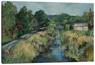 Polk Street Creek  Canvas Art Print