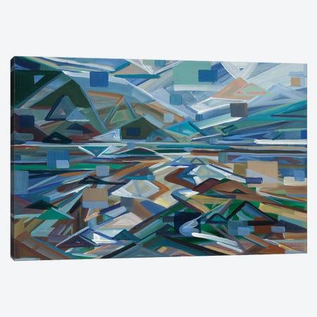 Low Tide Canvas Print #BBO5} by Brooke Borcherding Canvas Wall Art