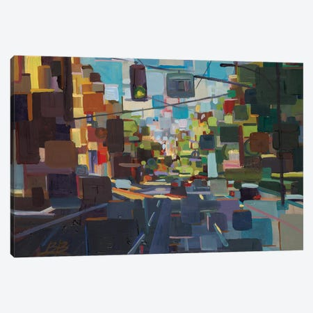 Up Spring Street  Canvas Print #BBO64} by Brooke Borcherding Canvas Artwork