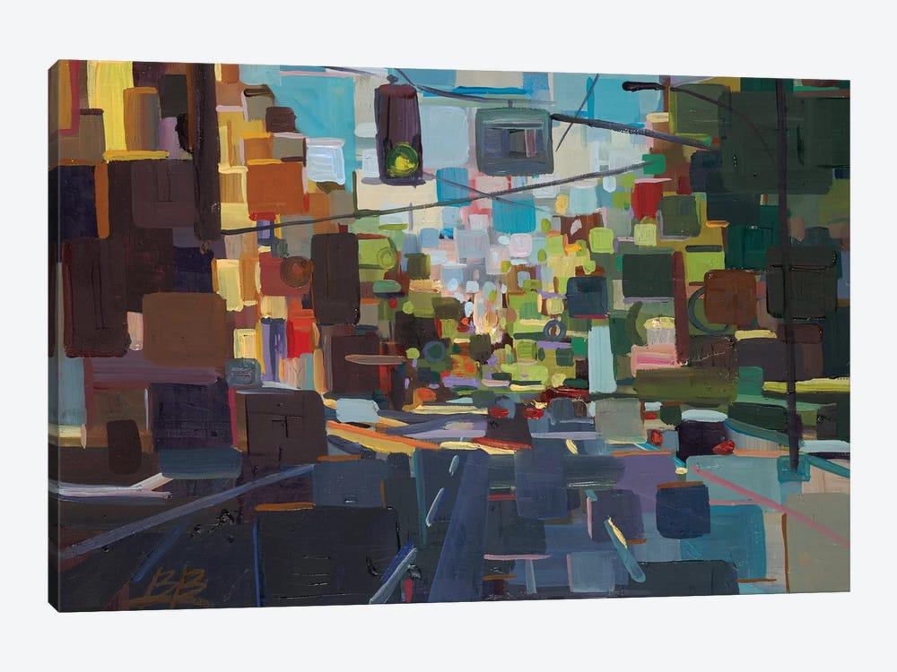 Up Spring Street  by Brooke Borcherding 1-piece Canvas Wall Art