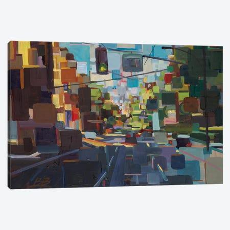 Up Spring Street  Canvas Print #BBO64} by Brooke Borcherding Canvas Artwork