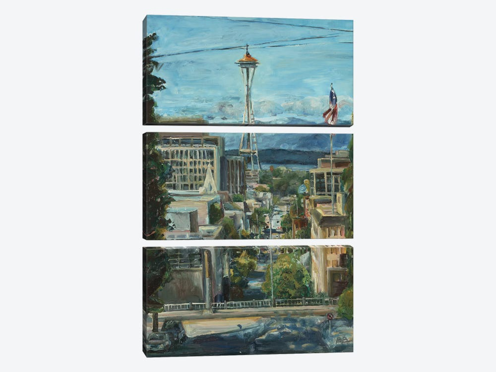 Needle from the Hill by Brooke Borcherding 3-piece Canvas Artwork