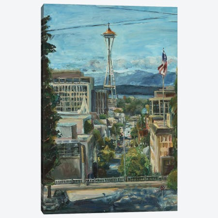 Needle from the Hill Canvas Print #BBO66} by Brooke Borcherding Canvas Artwork